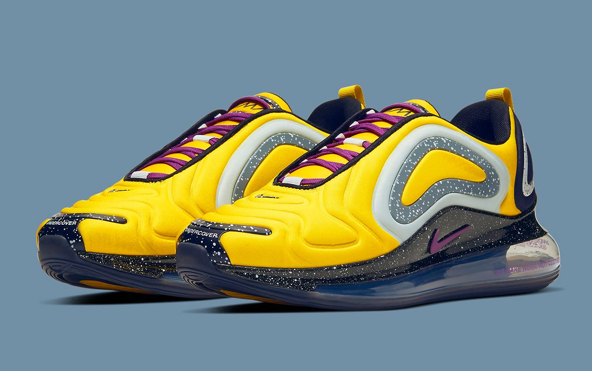 Official Looks At The Undercover X Nike Air Max 720 Collection
