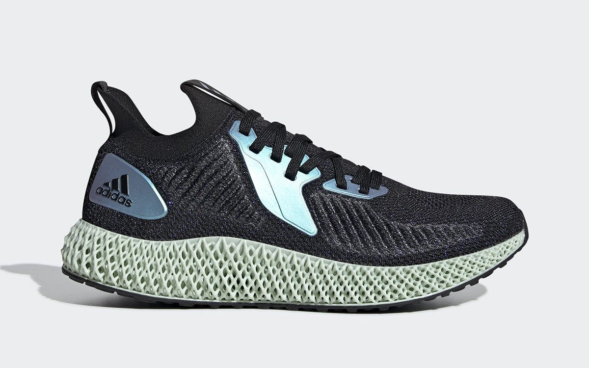 adidas Aplhaedge 4D Surfaces with In-Line Iridescent Finish