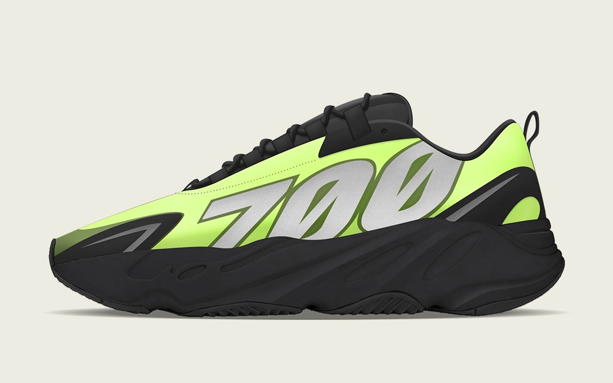 "YEEZY 700 MNVN ""Phosphor"" Pegged for Spring 2020 Release"
