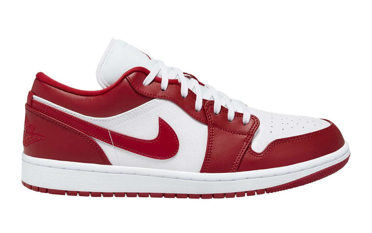 "This Air Jordan 1 Low ""Gym Red"" Mimics Mike's OG Samples from 1985"