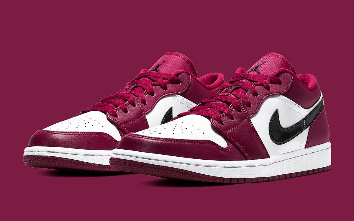 """Available Now // Air Jordan 1 Low """"Noble Red"""""""