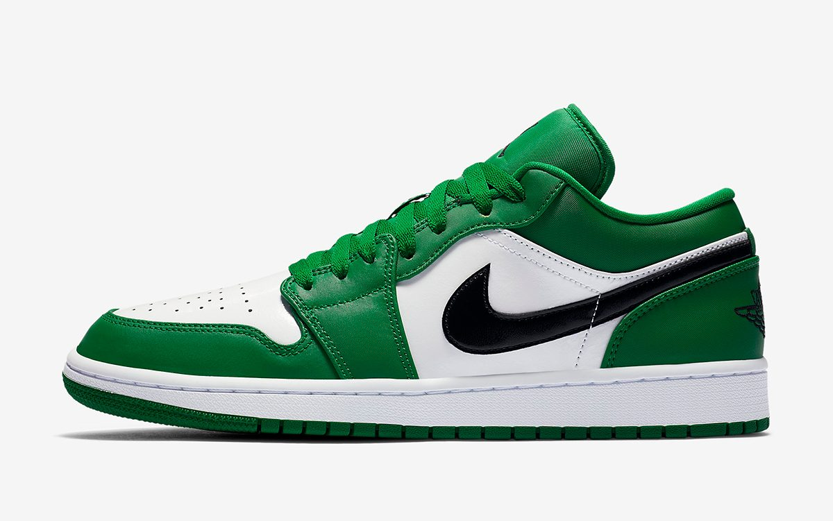 """Air Jordan 1 Low """"Pine Green"""" Pegged for Christmas Release"""
