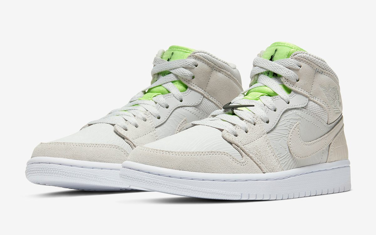 This Women's Air Jordan 1 Mid is Made Up in a Medley of ...