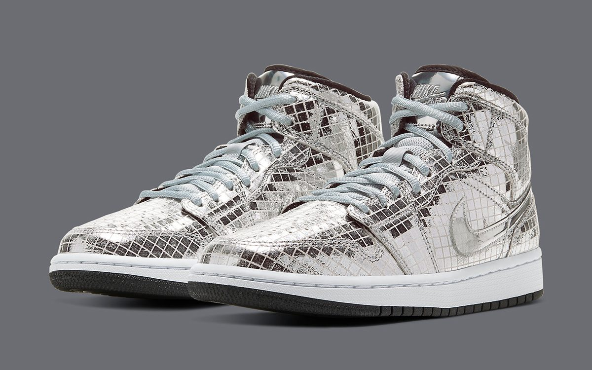 "Official Looks // Air Jordan 1 Mid ""Disco Ball"""
