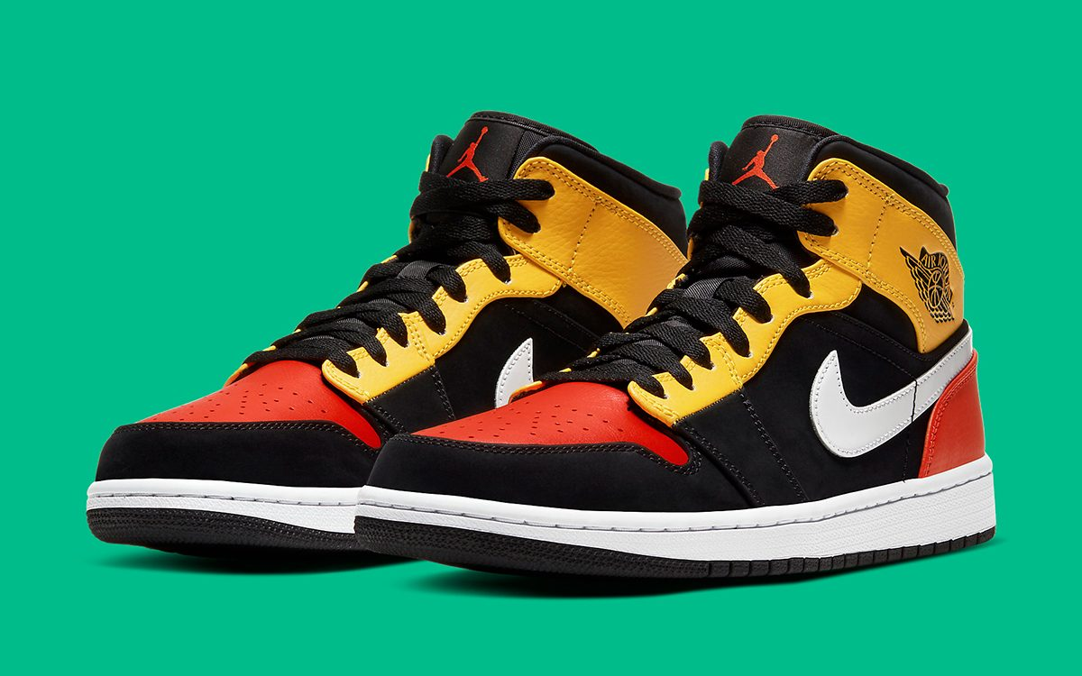 "Available Now // Air Jordan 1 Mid ""Raygun"""