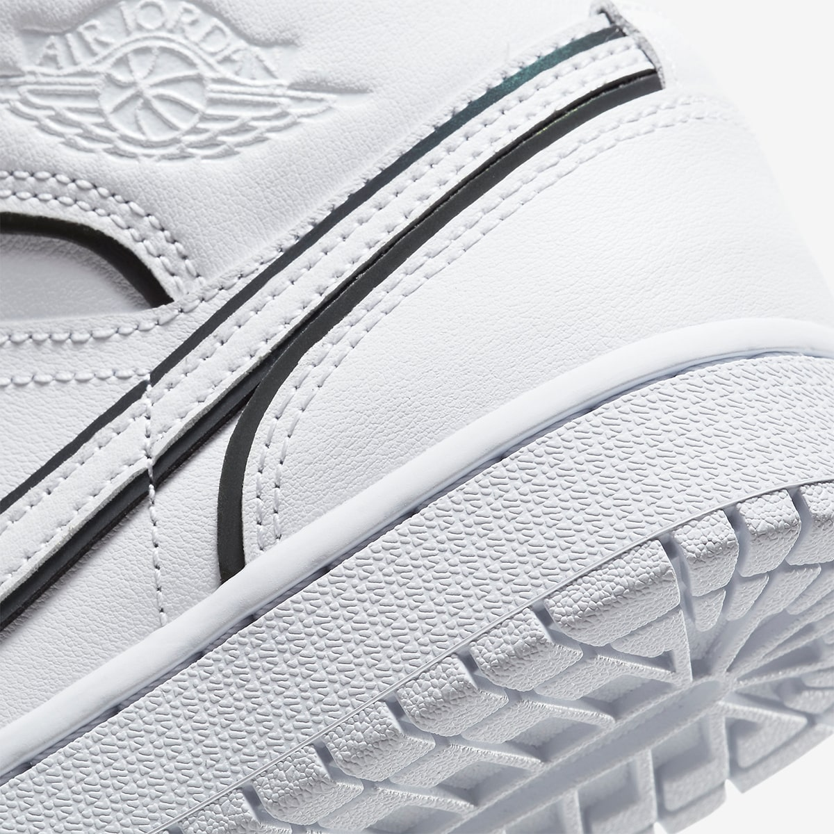 The Jumpman Adds Iridescent Lining To The Air Jordan 1 House Of