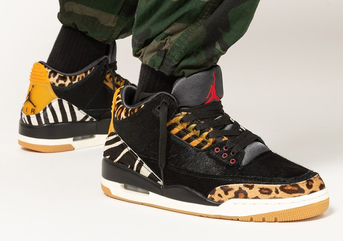 "On-Foot Looks // Air Jordan 3 ""Animal Pack"""