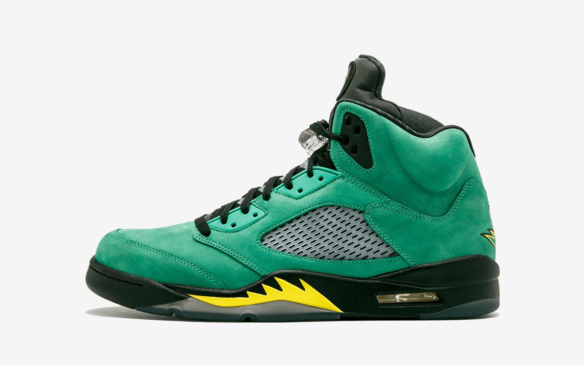 "Air Jordan 5 ""Oregon"" Hitting Stores in September"