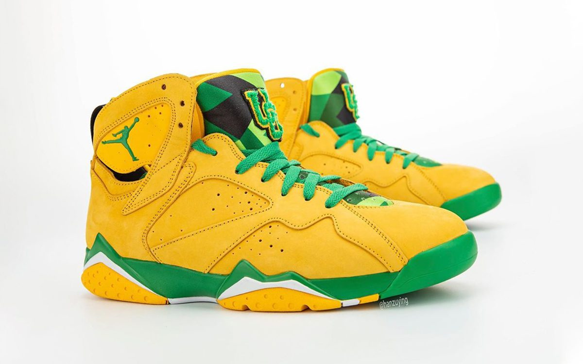 "Air Jordan 7 ""Oregon"" Limited to Just 400 Pairs"