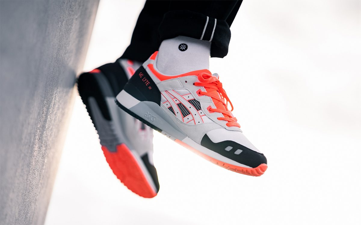 Asics Gel Lyte III OG Flash Coral | Blog