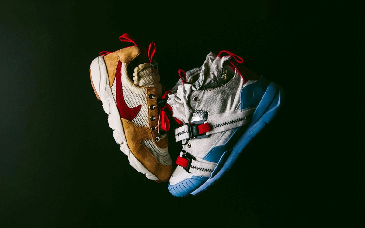 BespokeIND Launch Nike Air Mars Yard Footscape / Air Jordan 3 Overshoe Hybrid Crossover Collection