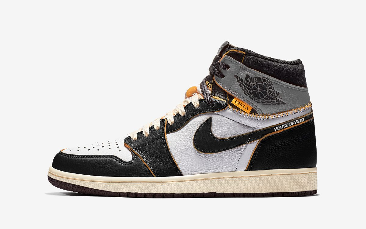 "Concept Lab // Union x Air Jordan 1 ""Black/White-Shadow"""
