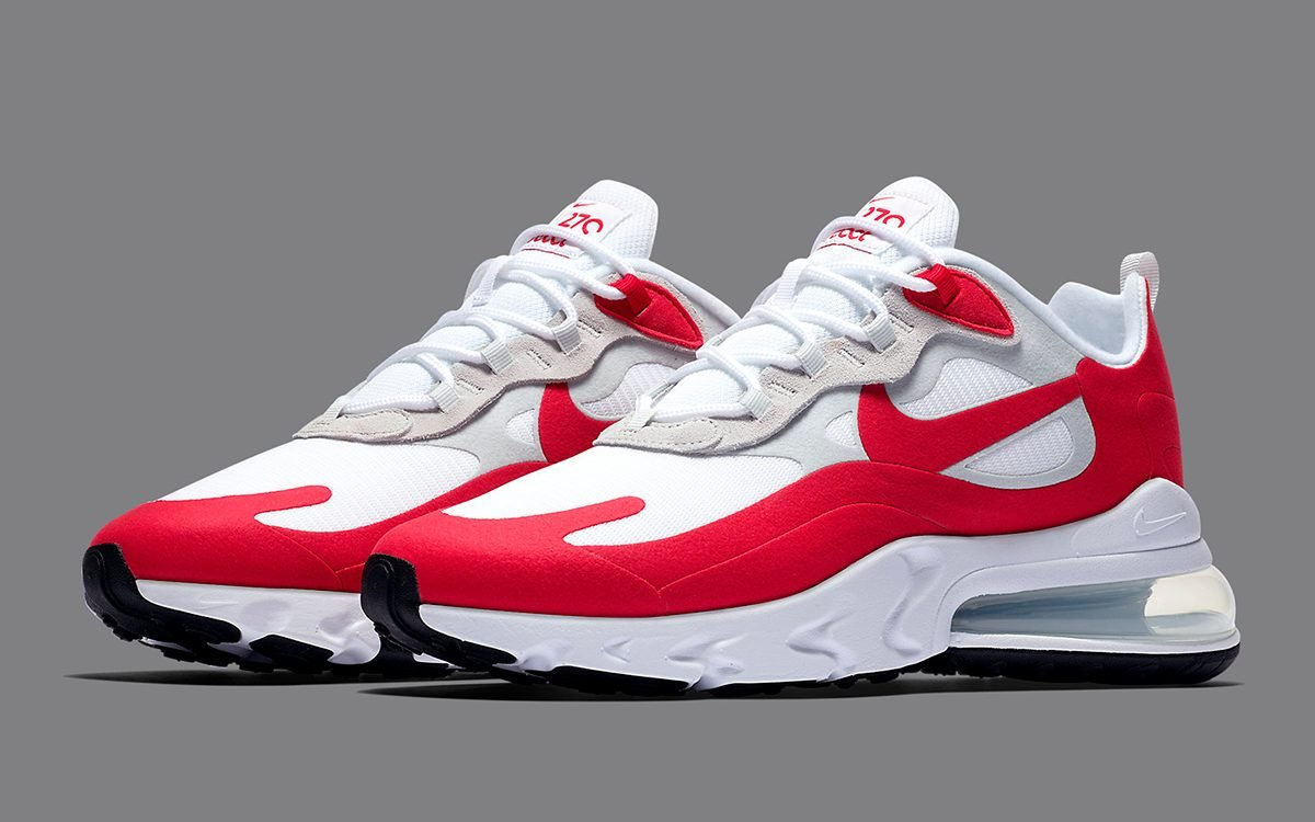 A New Nike Air Max 270 React Inspired By The Air Max 1