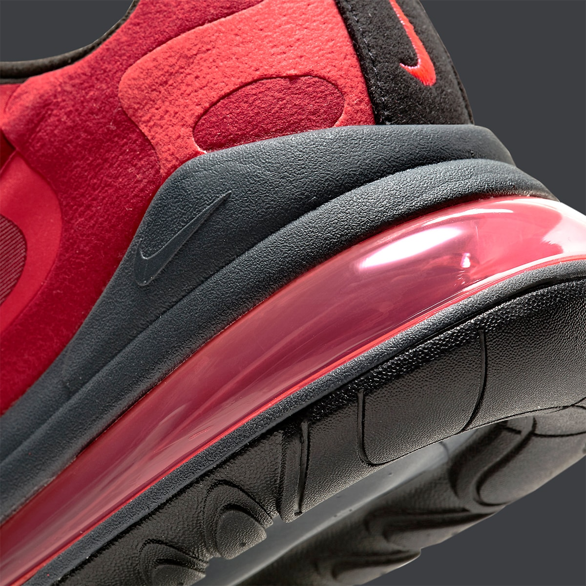 Available Now New Nike Air Max 270 React Rocks Red N Grey