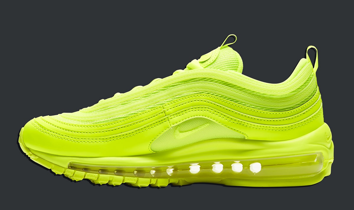 Available Now The Nike Air Max 97 Electrifies With All Volt