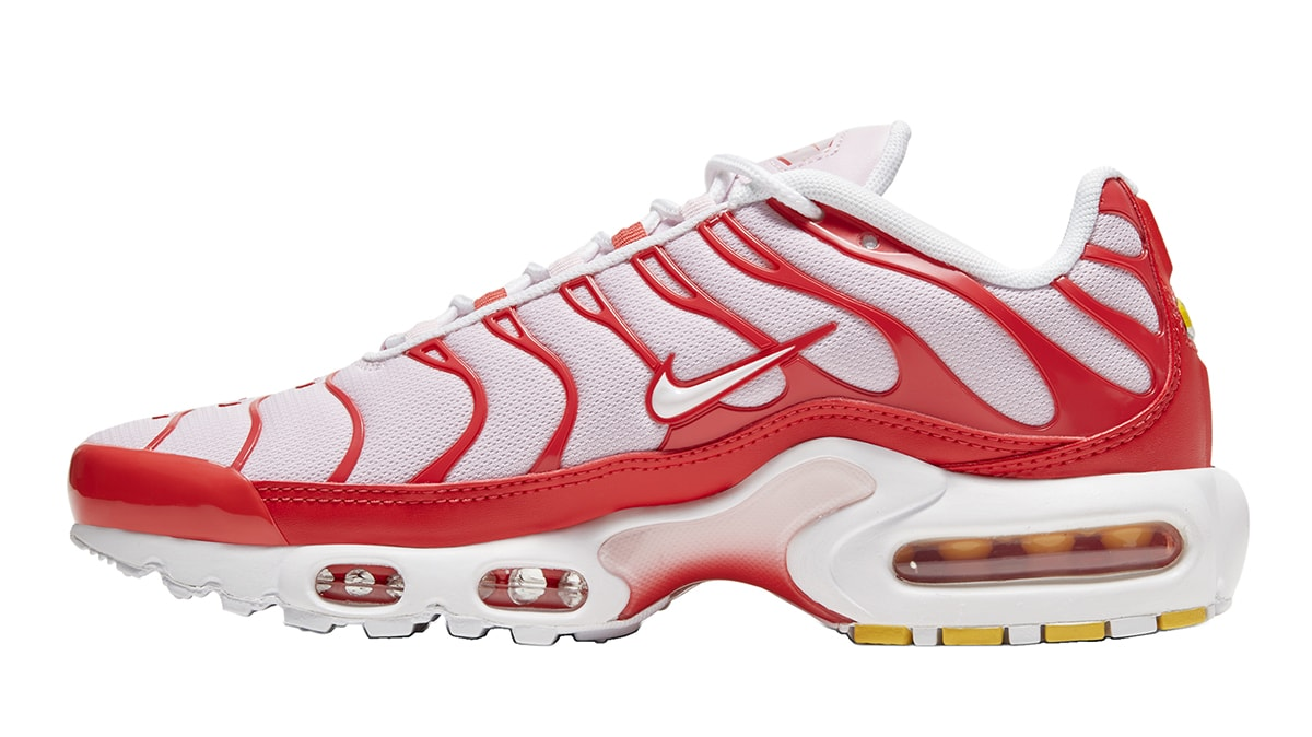 Nike Air Max Plus Returns In Simple White Red Rendition House Of