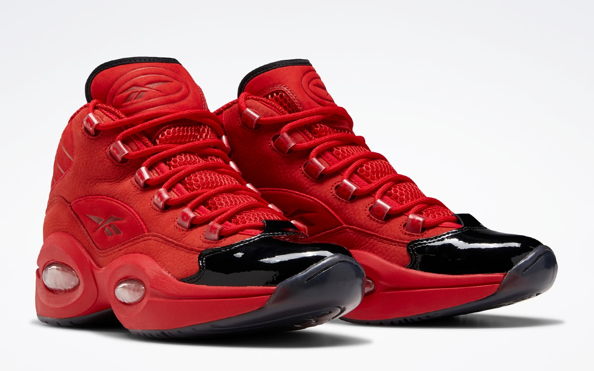 """Reebok Question Mid """"Heart Over Hype"""