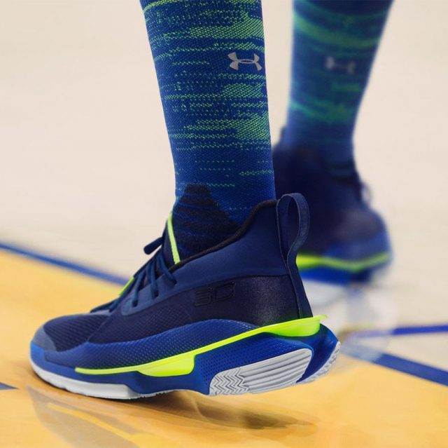 """Steph Curry, UA Take New Approach To Traditional """"Dub Nation"""" Colorway"""