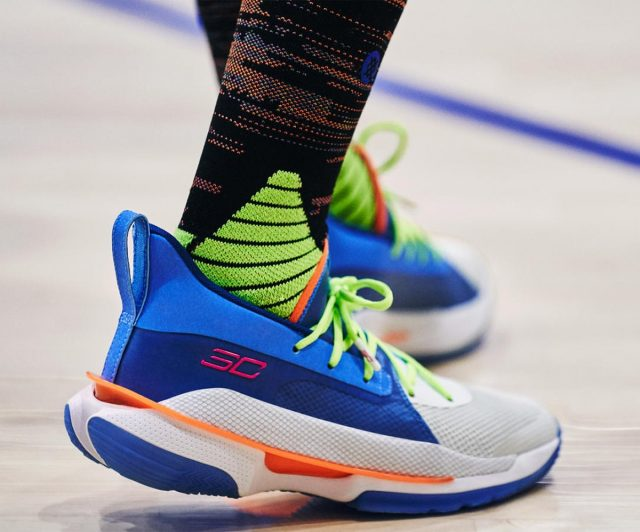 """Under Armour Curry 7 """"NERF Super Soaker"""" Hits Stores on Dec. 27th"""