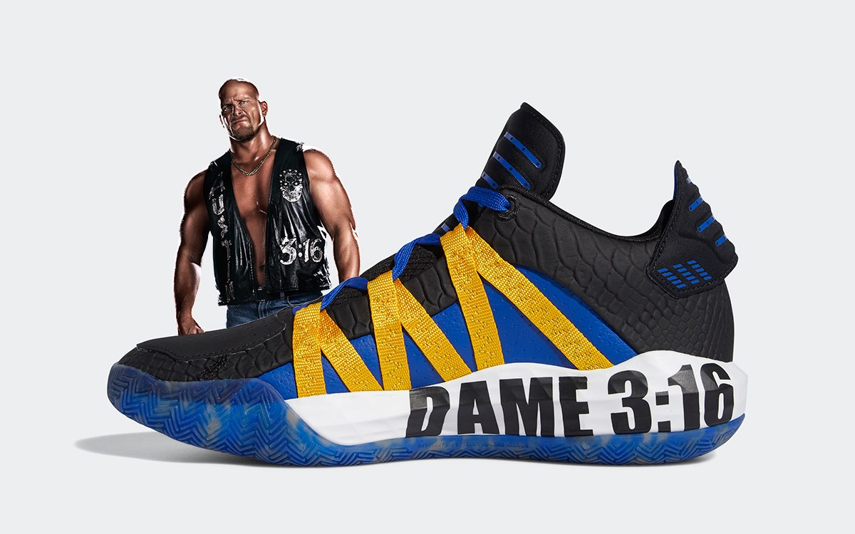 "Damian Lillard's Steve Austin-Inspired ""Dame 3:16"" Sneakers Drops Today!"