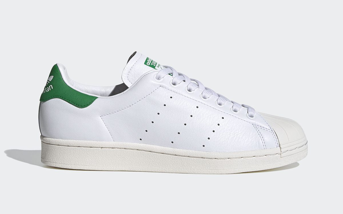 "The adidas ""SuperStan"" Splits the Brand's Two Most Beloved Silhouettes"