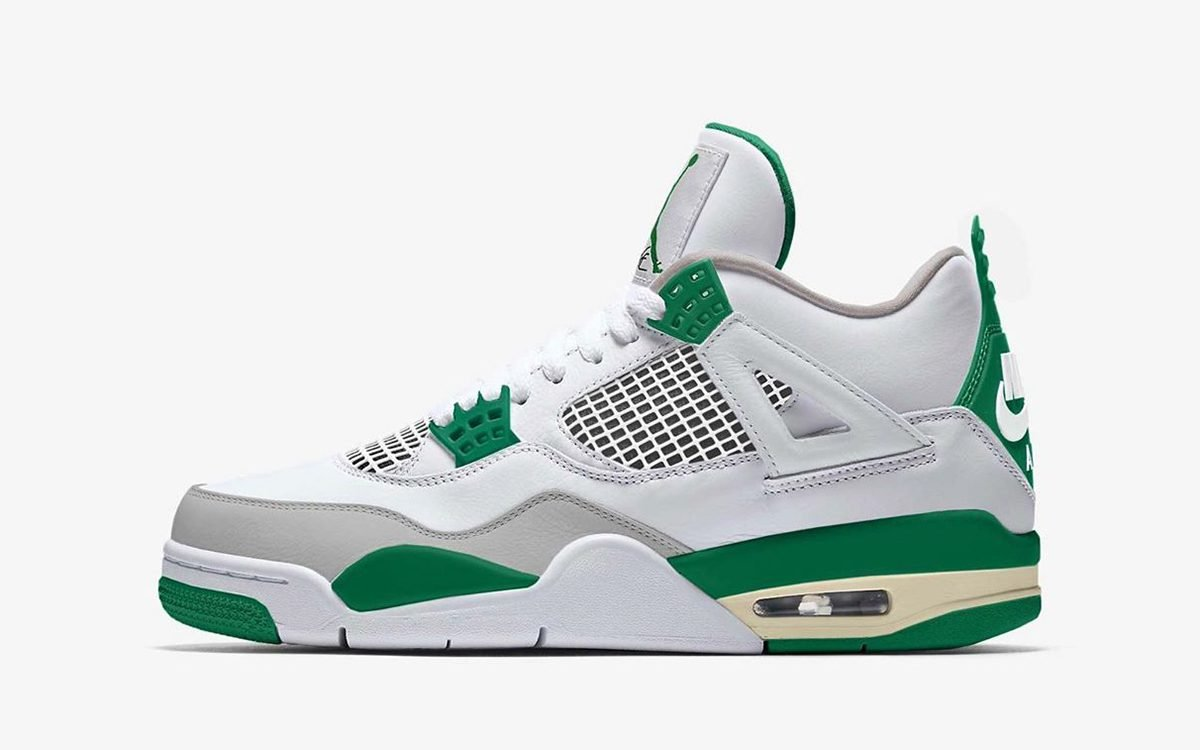 "Air Jordan 4 ""Pine Green"" Pegged for August Release"