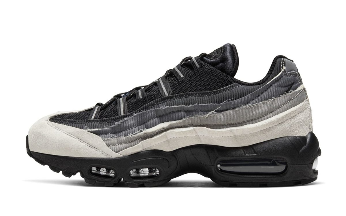 The Comme des Garçons CDG x Nike Air Max 95 Collection Rumored for Release This Week!