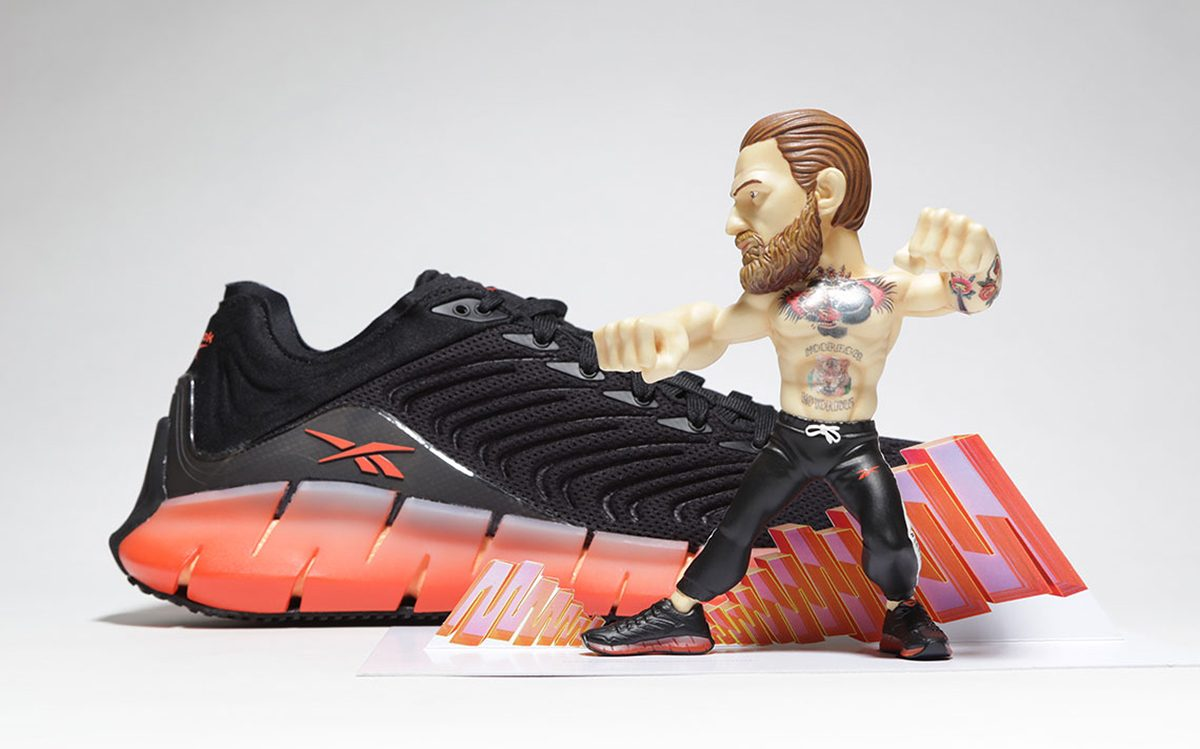 Conor McGregor Kicks Off a Reebok Collab with the Zig Kinetica