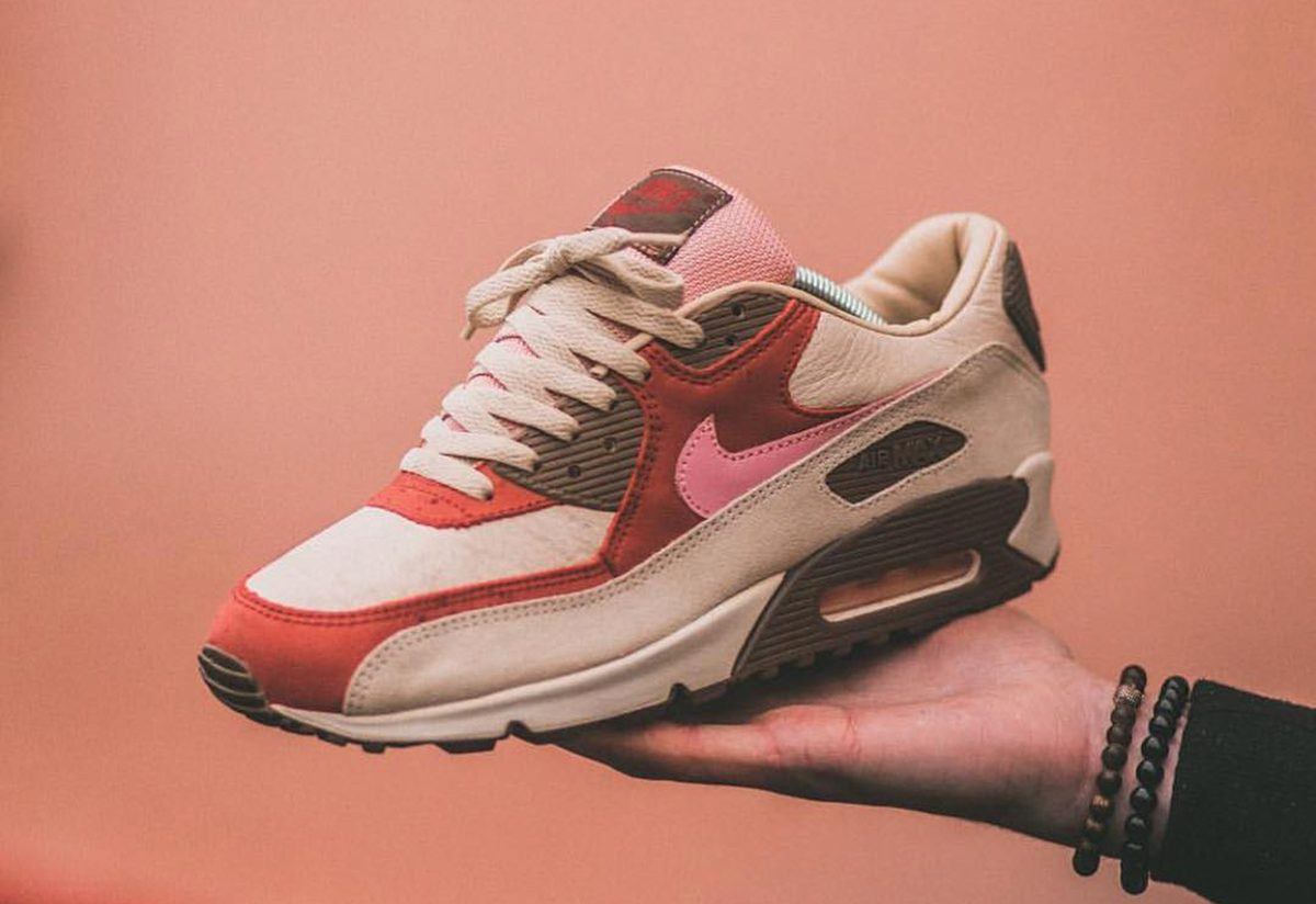 """Nike to Reissue DQM's Nike Air Max 90 """"Bacon"""" for Air Max Day 2020"""
