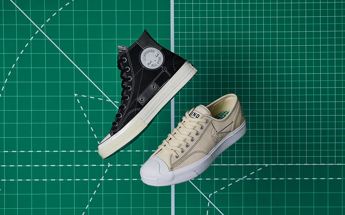 """END Celebrate their Soho Flagship Store with Two-Piece Converse """"Blueprint Pack"""""""