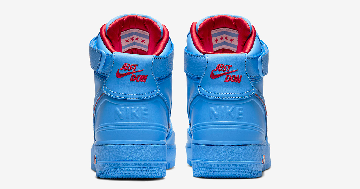 all blue air force ones high top