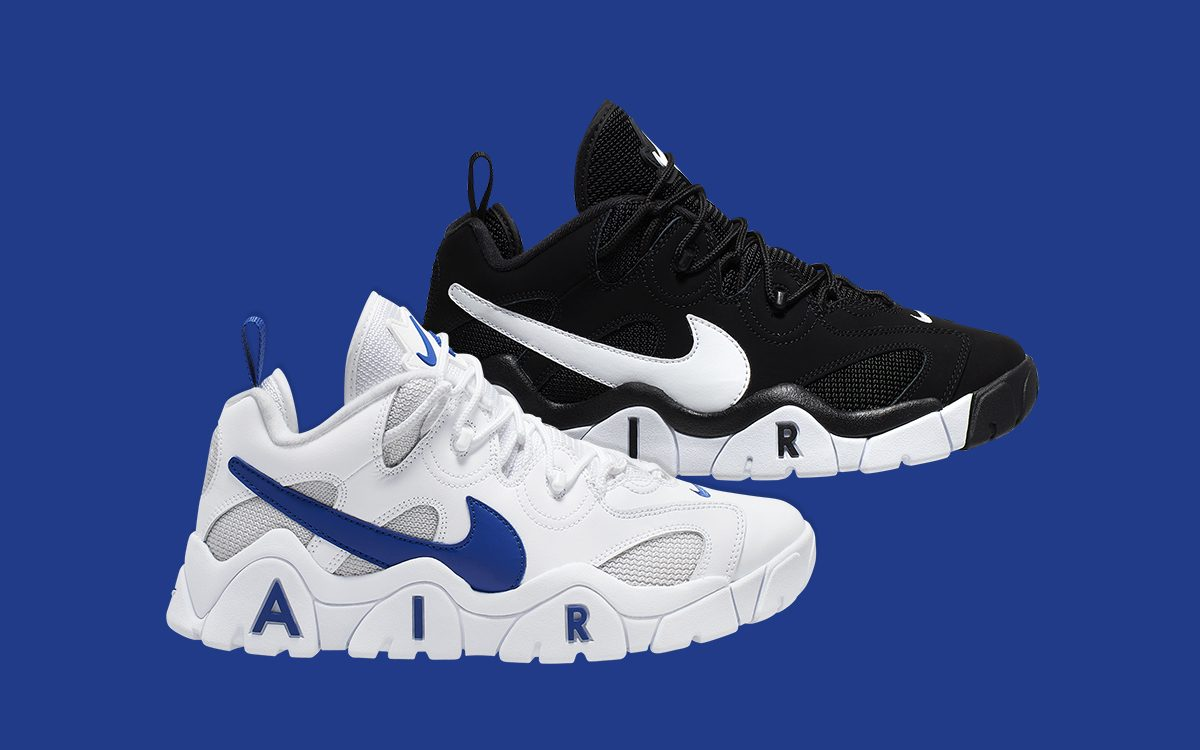 Available Now // Nike Air Barrage Low