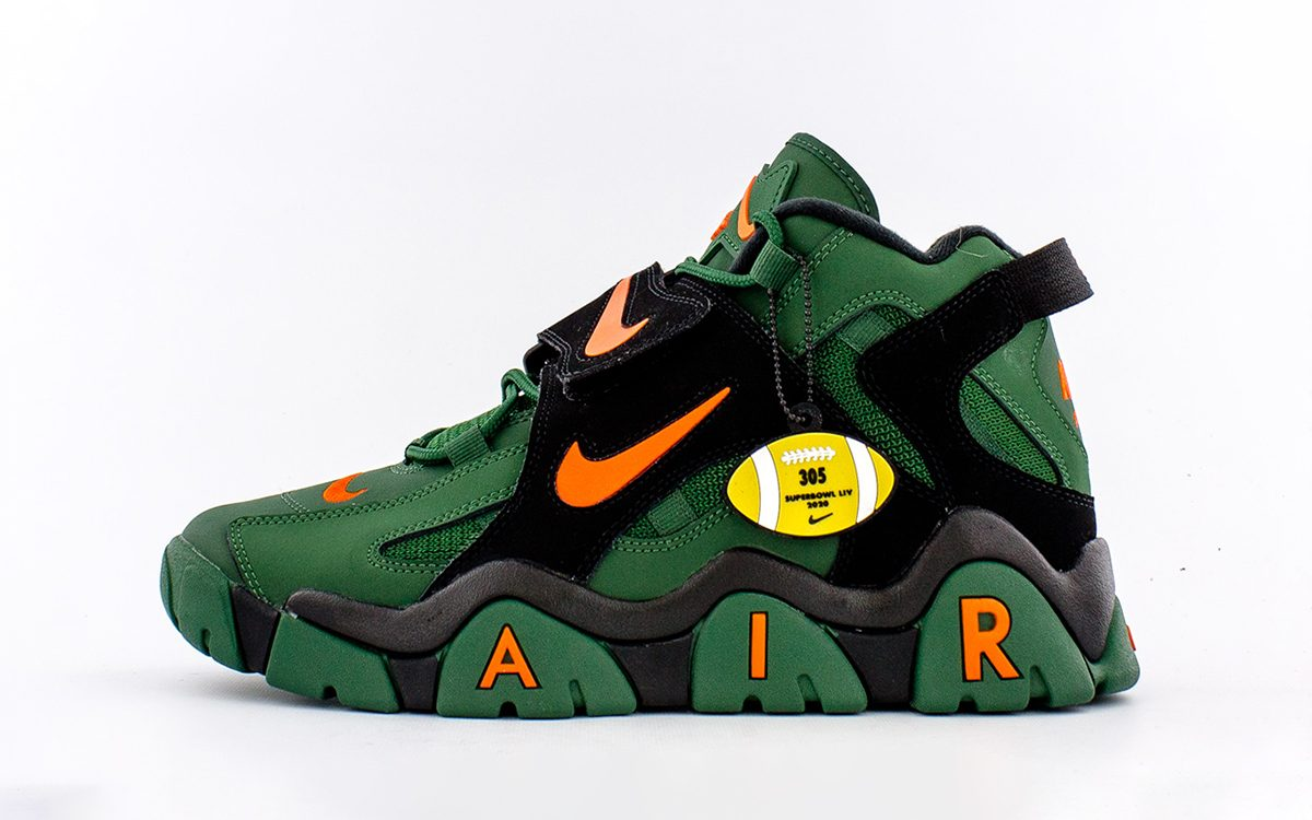 Nike to Release Hurricanes-Homaged Air Barrage for Superbowl 2020