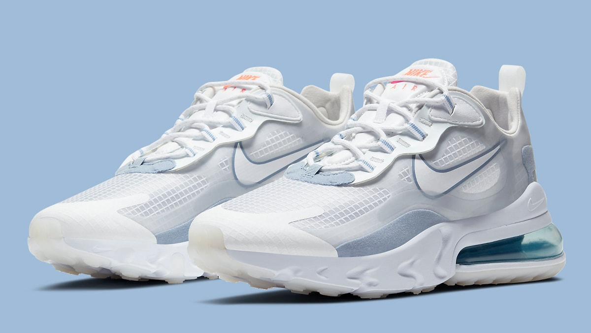 The Nike Air Max 270 React Appears In Indigo Fog House Of Heat