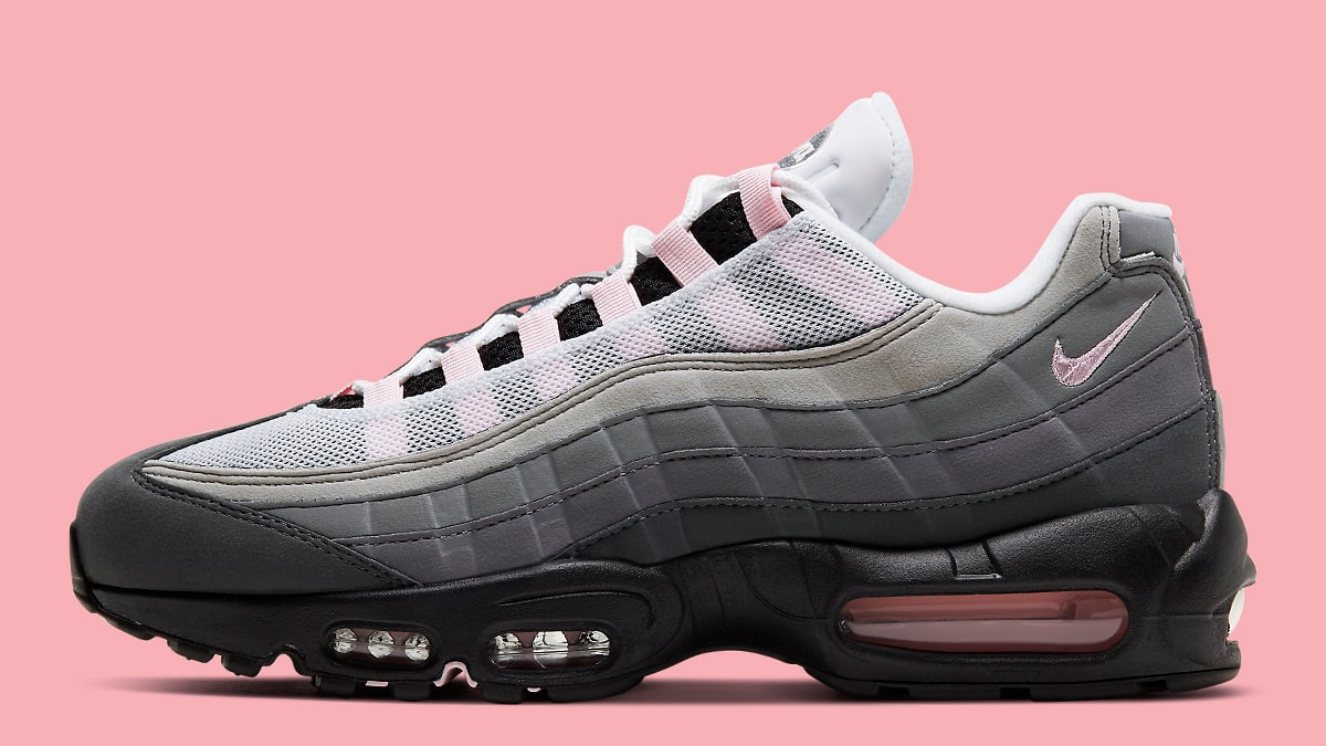 OG Styled Air Max 95 Presents with Pastel Pink Pops HOUSE