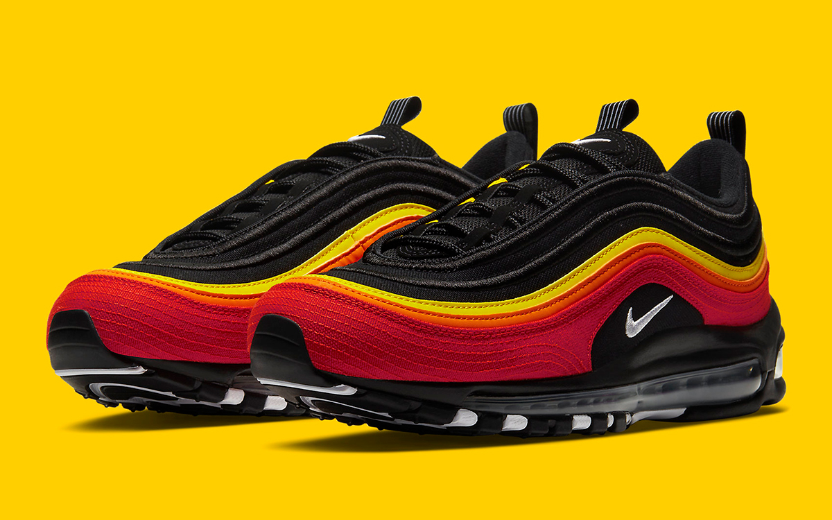 Available Now The Air Max 97 Is Back With A Baseball Inspired