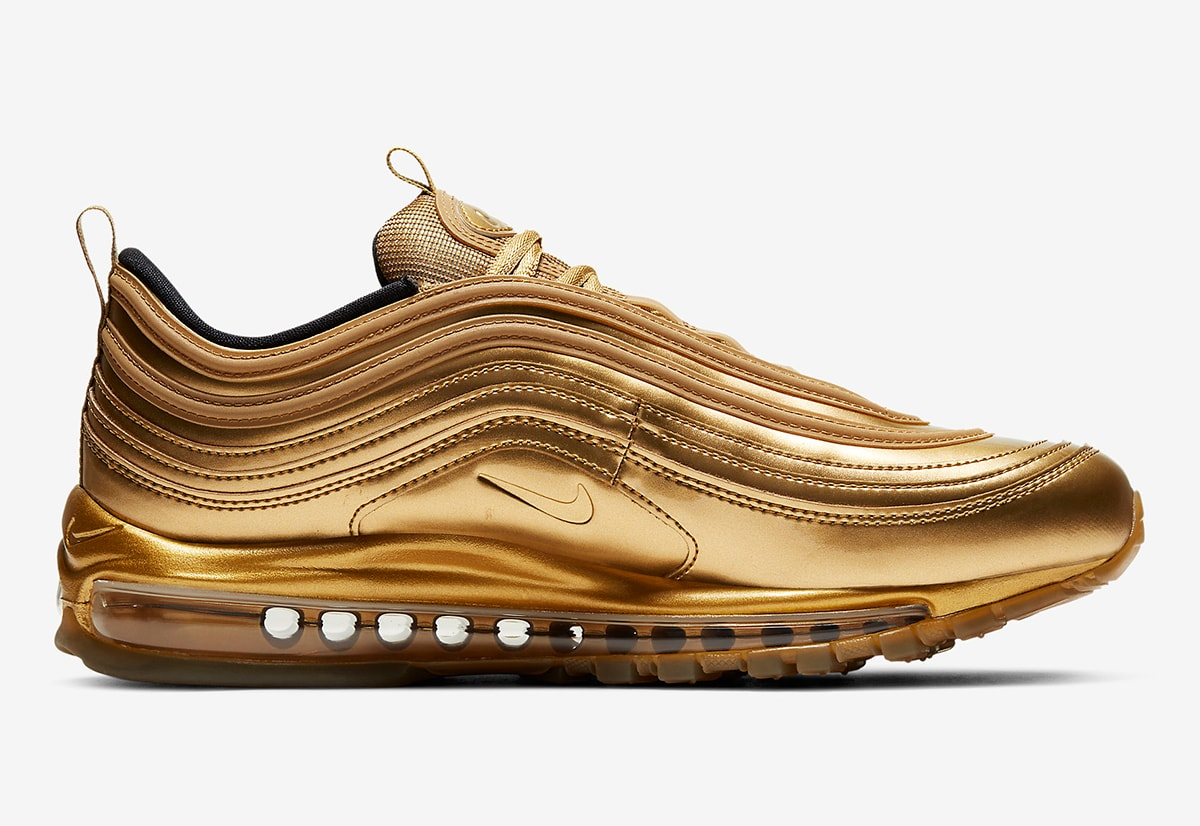 Available Now Air Max 97 Gold Medal House Of Heat Sneaker