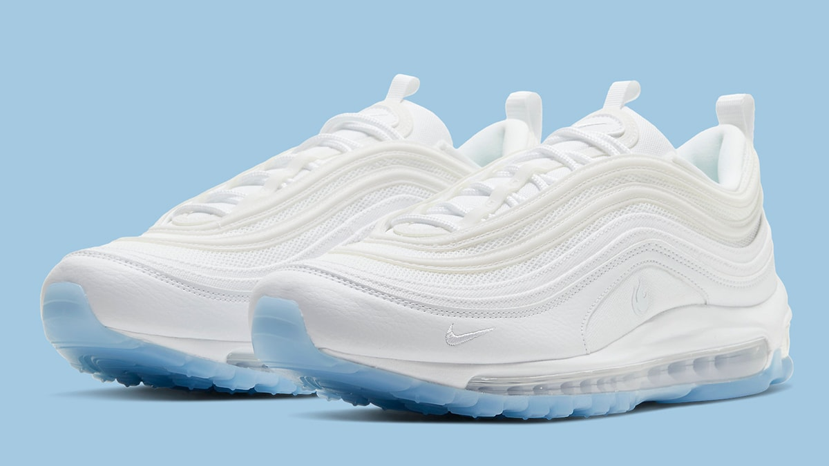 Available Now This Nike Air Max 97 Is White Hot And Ice Cold At