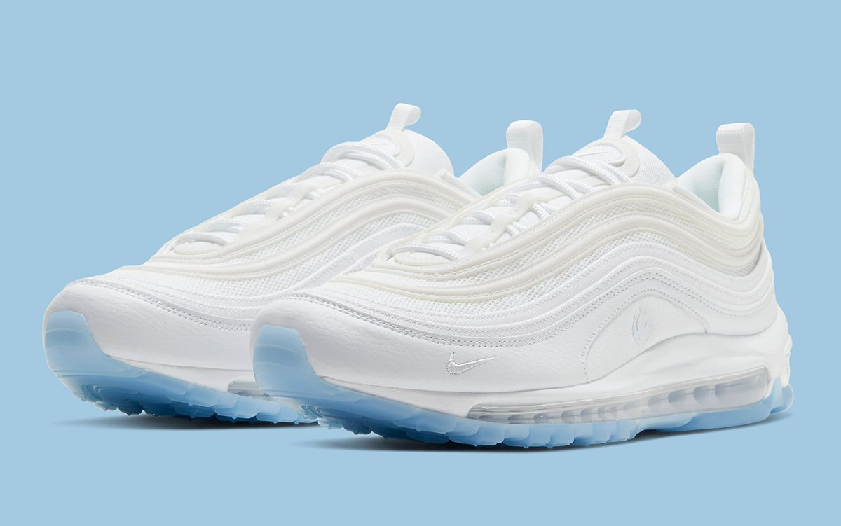 Available Now // This Nike Air Max 97 is White Hot and Ice Cold at the Same Damn Time