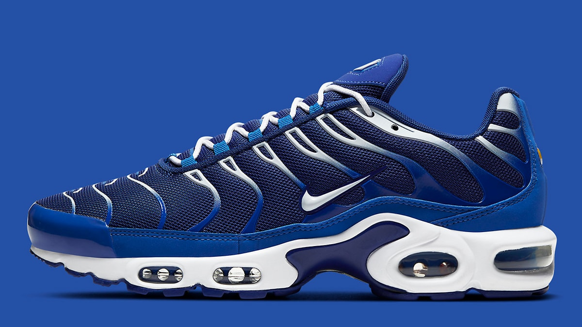 Nike S Air Max Plus Just Dropped In Delectable Deep Royal