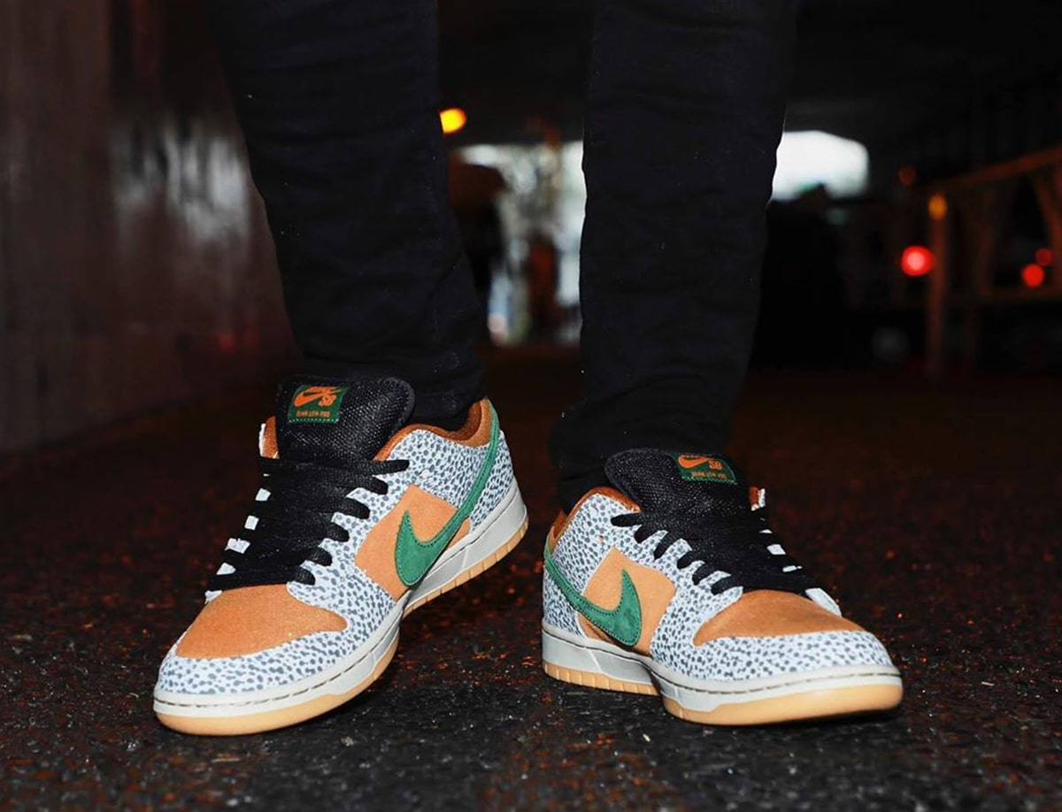 nike sb dunk low safari australia