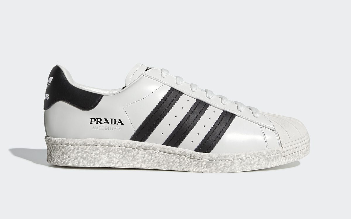 Prada to Release Three More adidas Superstars in March
