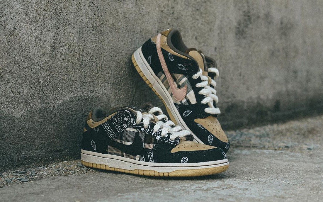 The Travis Scott x Nike SB Dunk Low Releases Next Month!