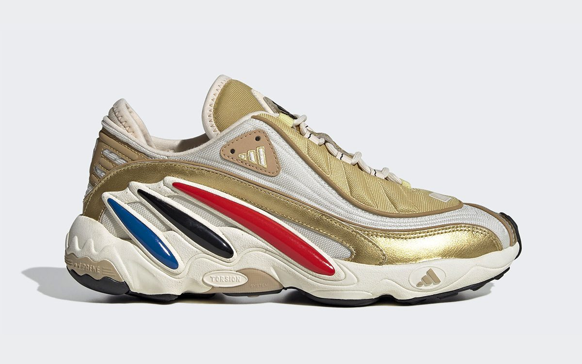 adidas FYW 98 Gets Made Up in Metallic Gold