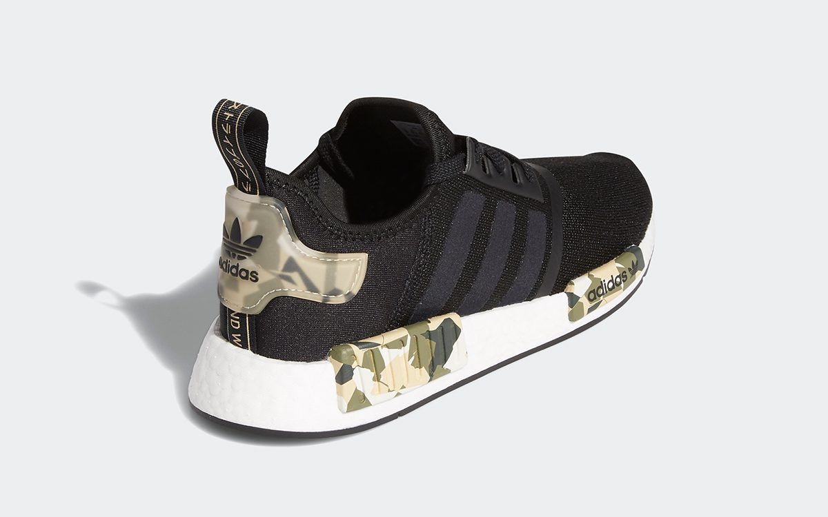 Available Now // adidas NMD R1 in Black/Camo