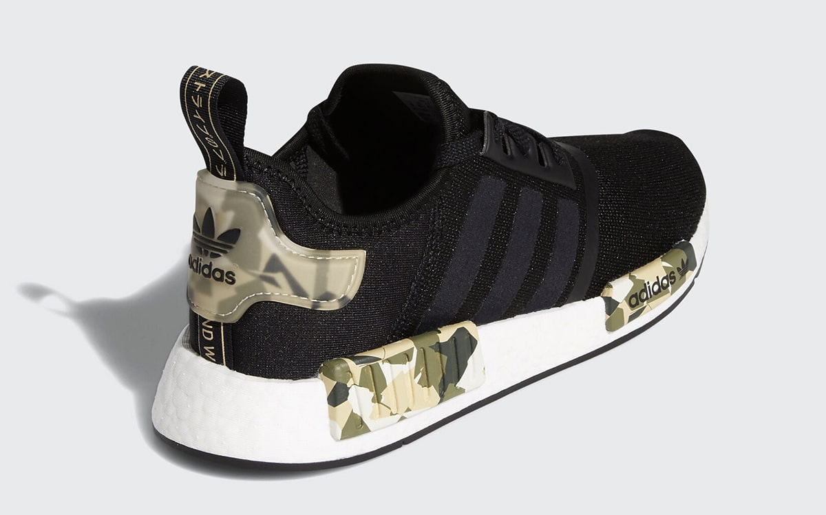 Now // adidas NMD R1 in Black/Camo