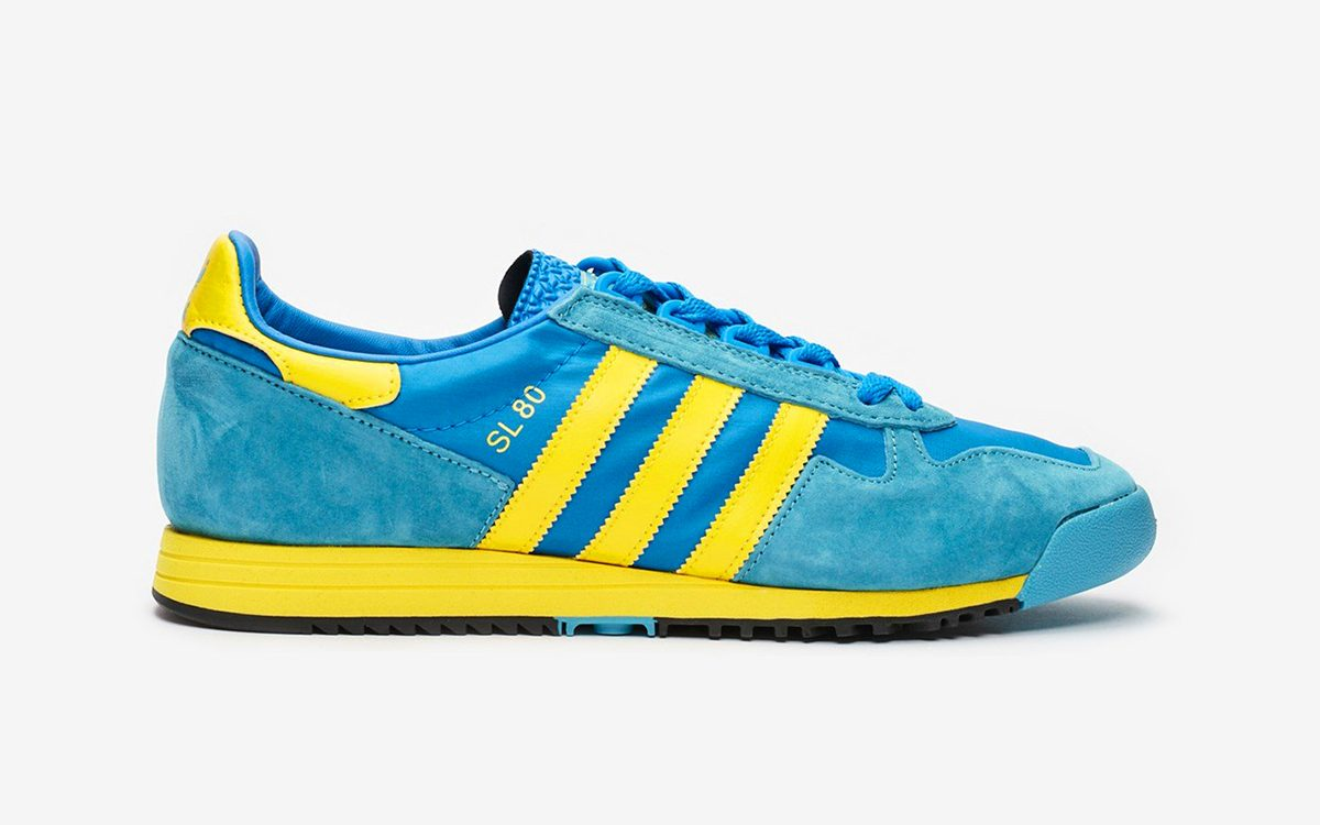 """Available Now // The adidas SL 80 Returns in OG-Inspired """"Glow Blue"""""""