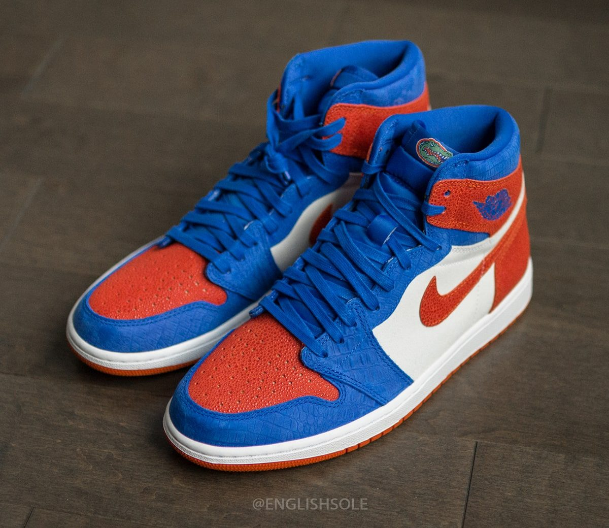 Detailed Looks at the Florida Gators Air Jordan 1 PE