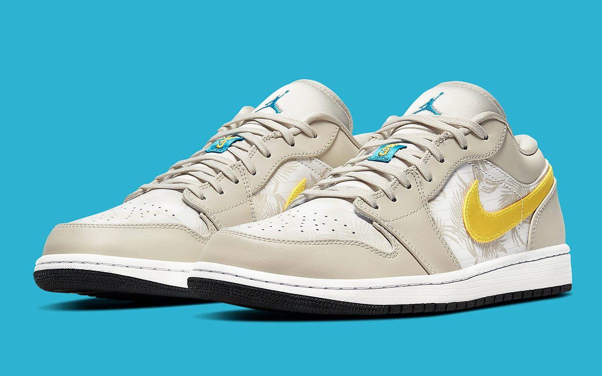 Jordan Brand Issue a Tropical Take on the Air Jordan 1 Low