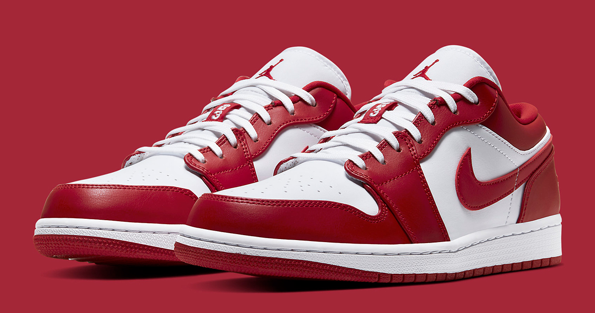 More Sizes Of The Air Jordan 1 Low Gym Red Just Dropped House Of Heat Sneaker News Release Dates And Features